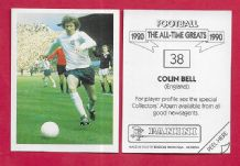 England Colin Bell Manchester City 38